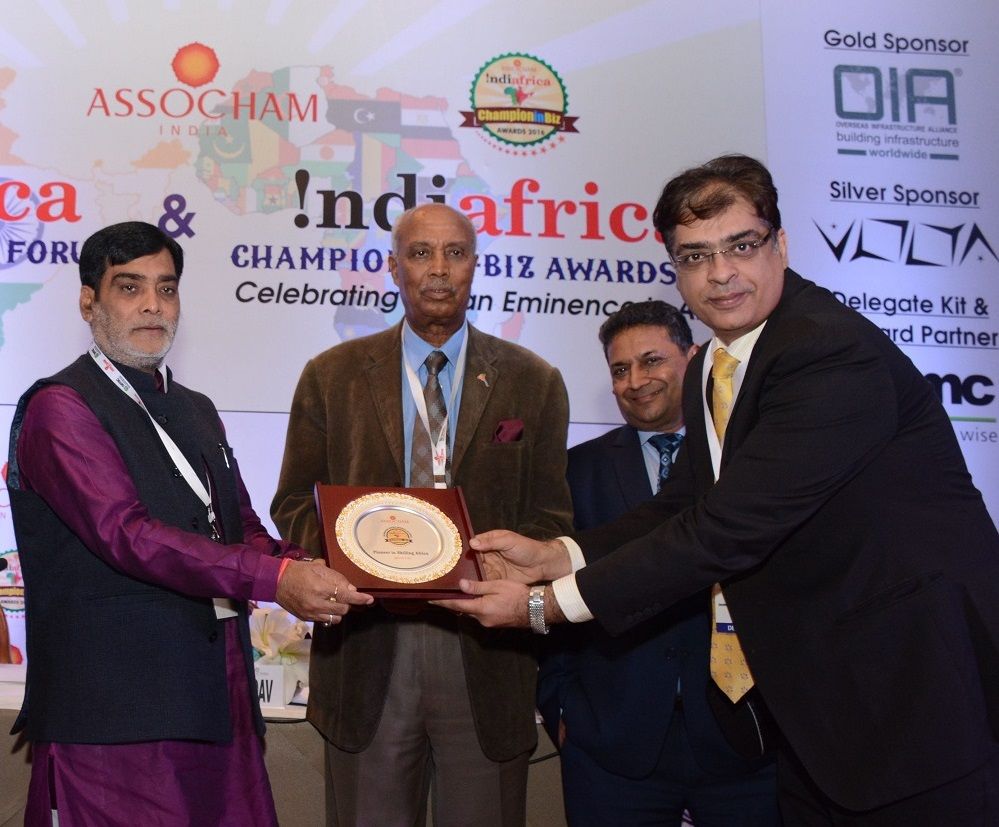 Aptech won the Pioneer in Skilling Africa Award at India-Africa Champion in Biz Awards 2016 conducted by ASSOCHAM, 2016